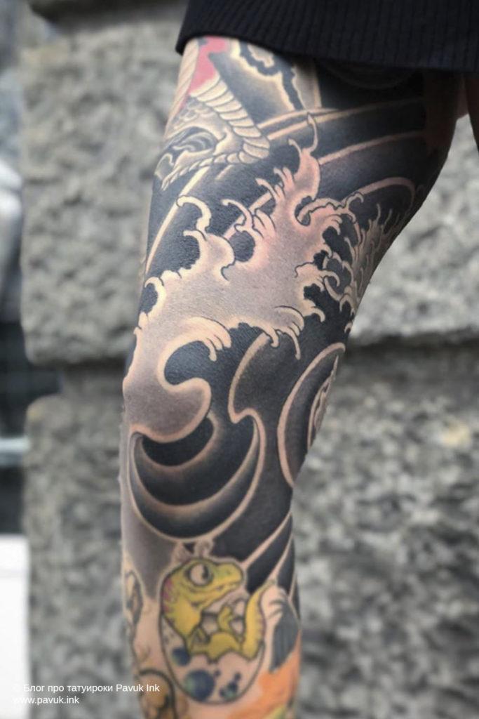 тату в японском стиле 10