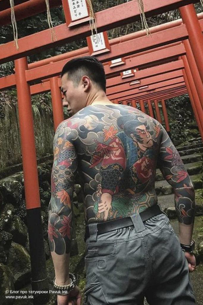 тату япония 21