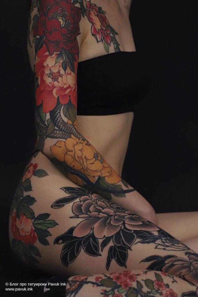японская тату 03