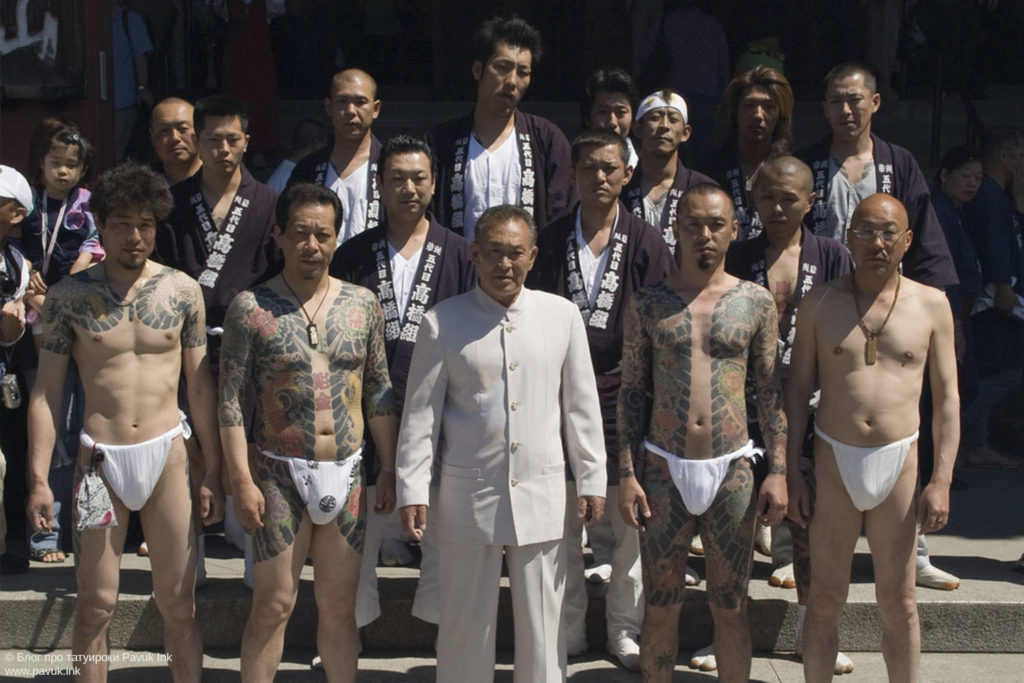 тату япония якудза