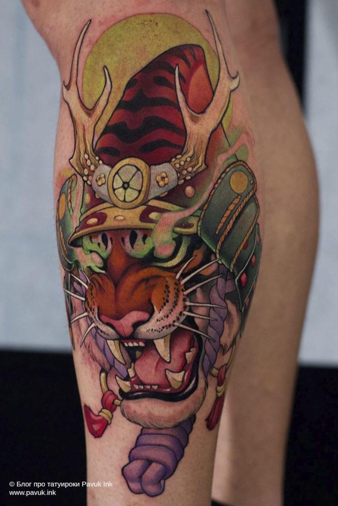 тату тигра 20