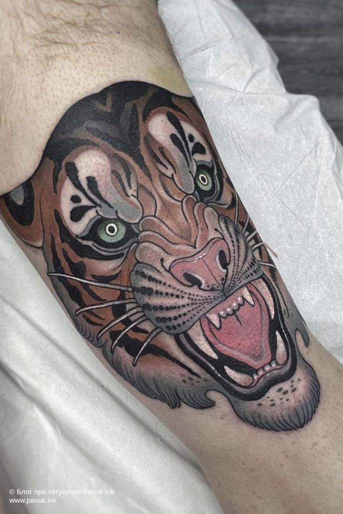 тату тигра 24