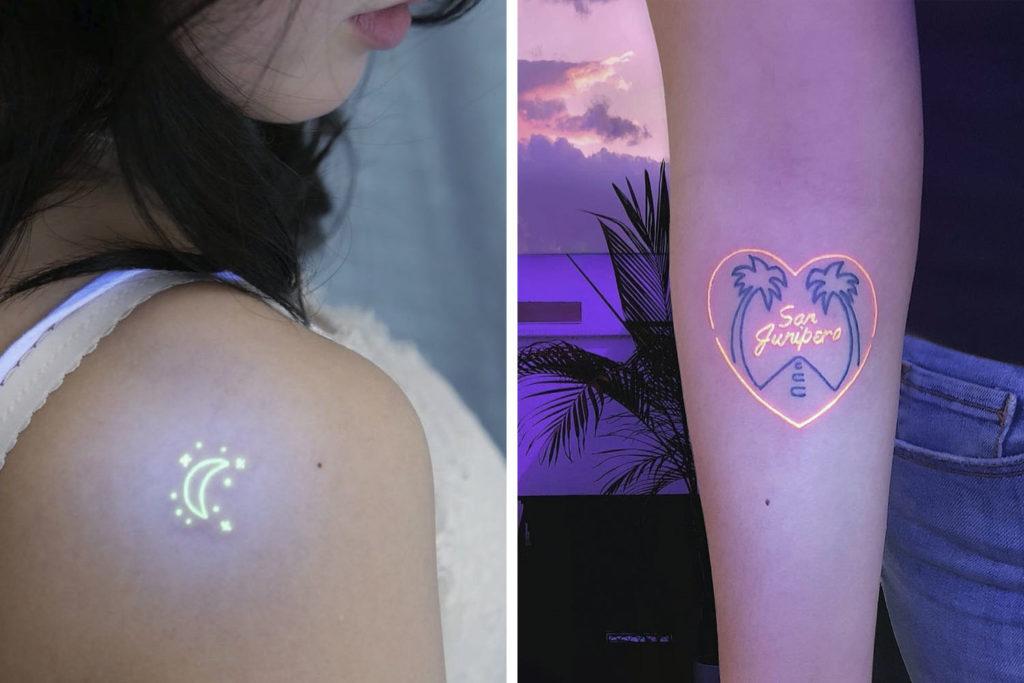 ультрафиолетовые тату